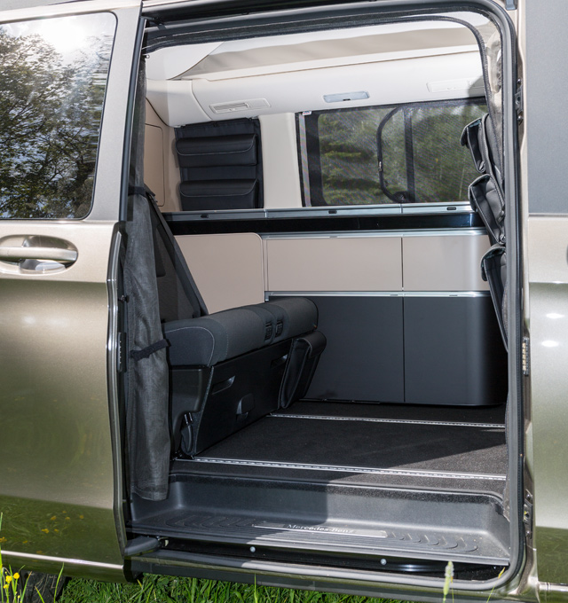 brandrup flyout mercedes benz v klasse marco polo 2014. Black Bedroom Furniture Sets. Home Design Ideas
