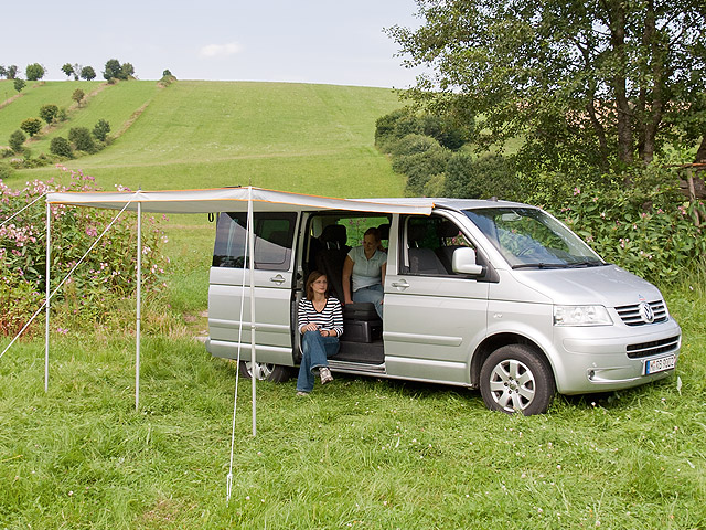 TOP-RAIL® VW T6/T5 with TOP-SAIL. & BRANDRUP - TOP-RAIL
