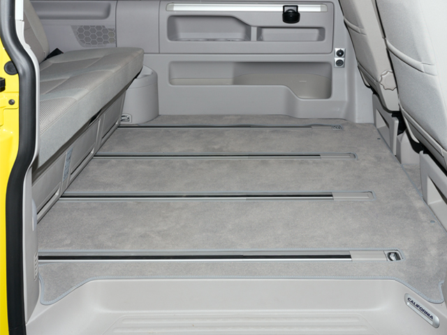 VW Transporter t6 Mutlivan passenger and boot area carpet