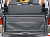 FLEXBAG Heck VW T6.1/T6/T5 California Beach/Multivan mit 3er-Bank