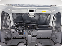 ISOLITE® Inside cabin windows, 3 pieces, all VW T6 with sensors in the inner-rear mirror