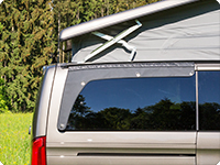 AIRSCREEN ® for the right revolving window Mercedes-Benz V-Class / Marco Polo