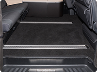 Velour carpet passenger compartment Mercedes-Benz V Class Marco Polo as from 2014