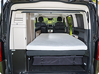 iXTEND fitted sheet Mercedes-Benz Class-V Marco Polo (2014 –>)
