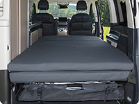iXTEND folding bed for Mercedes-Benz V-Class Marco Polo (2014 –>).