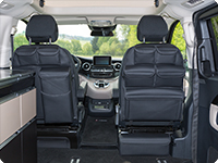 UTILITIES for cabin seats of Mercedes-Benz V-Class Marco Polo