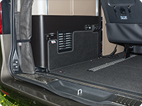 Interior protection for storage room and luggage Mercedes-Benz Marco Polo (2014 –>)