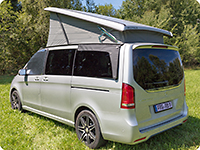 AIRSCREEN ® for the left revolving window Mercedes-Benz V-Class / Marco Polo Activity & Horizon