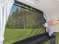 FLYOUT revolving window right side Mercedes-Benz V-Class MP HORIZON & ACTIVITY (2014 ➞).
