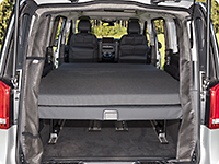 iXTEND folding bed for Mercedes-Benz V-Class Marco Polo HORIZON & ACTIVITY.