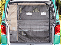 FLYOUT tailgate opening VW T5 California