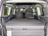 "iXTEND VW T6.1/T6/T5 Multivan und California Beach, Design ""Palladium"""