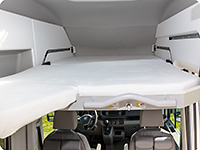 iXTEND fitted sheet for the loft bed VW Grand California 600