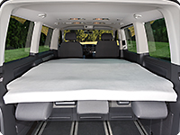 iXTEND fitted sheets VW T6.1 California Beach / Multivan