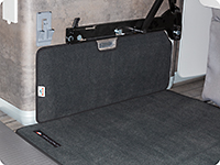 Le tapis de protection pour l'armoire California Ocean / Coast T6.1 VW .