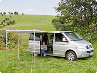 TOP-RAIL® VW T5 with TOP-SAIL