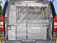 FLYOUT tailgate opening Mercedes-Benz Viano Marco Polo