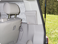 UTILITY VW T5 Beach for the pillar D, right side