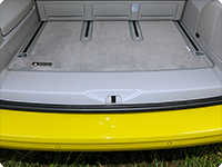 "Boot carpet VW T6/T5 Multivan and California Beach as from 2010, design ""Moonrock Grey"""
