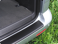 Protection film for painted bumpers, black, VW T6.1/T6/T5