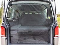 FLYOUT tailgate opening VW T5 Multivan as from 2010 and California Beach as from 2011