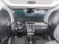 ISOLITE Inside Volkswagen Caddy