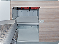 Anti-slip /protection inlays inside the kitchen cupboard VW T6/T5 California Ocean, Coast, Comfortline