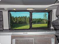 FLYOUT für Schiebefenster VW T6/T5 California